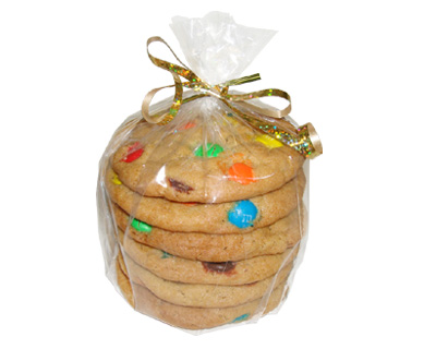 6 Cookie Party Favor Bag