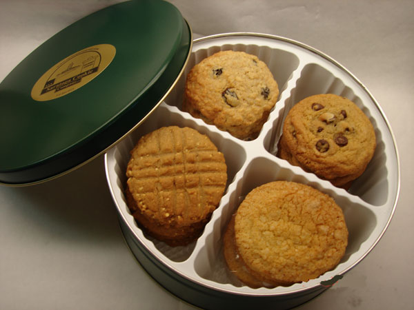 2 Dozen Cookie Tin