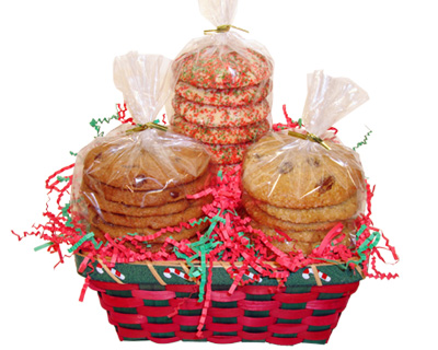 1 1/2 Dozen Holiday Cookie Gift Basket
