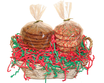 1 Dozen Holiday Cookie Gift Basket