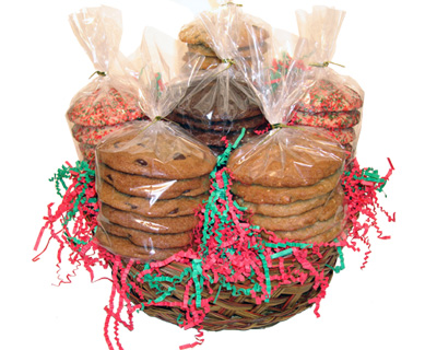 3 Dozen Holiday Cookie Gift Basket