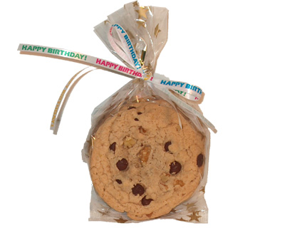 3 Cookie Party Favor Bag - Click Image to Close